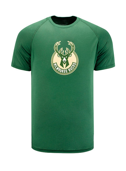 Under Armour Global Tech Milwaukee Bucks Logo T-Shirt