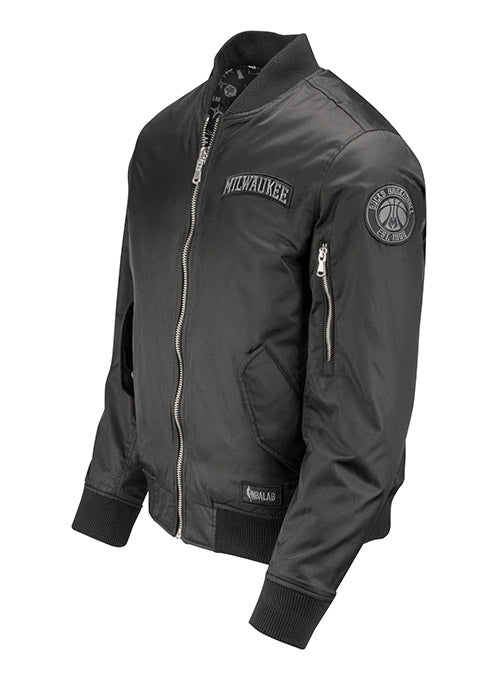 The Very Warm Reversible Bomber Milwaukee Bucks Jacket
