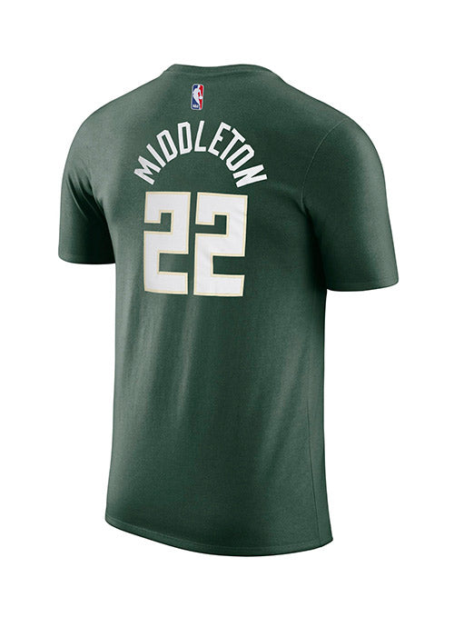 Nike Khris Middleton Milwaukee Bucks Icon T-Shirt