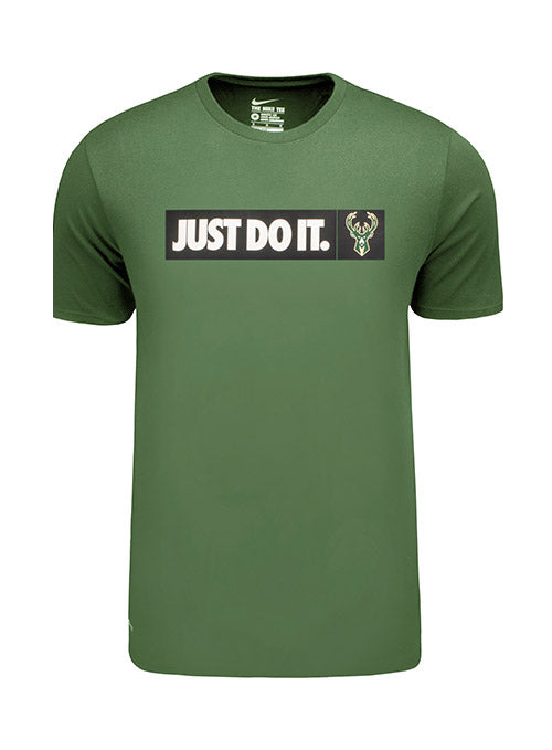 Nike Just Do It Icon Milwaukee Bucks T-Shirt