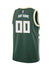 Youth Nike Custom Icon Milwaukee Bucks Swingman Jersey