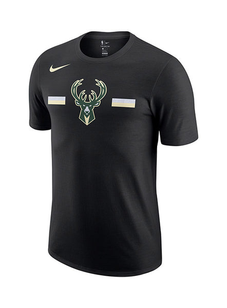 Nike Dri-Fit Tonal Stripe Icon Milwaukee Bucks T-Shirt