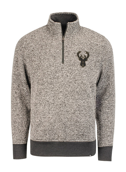 '47 Kodiak Tonal Milwaukee Bucks 1/4 Zip Pullover