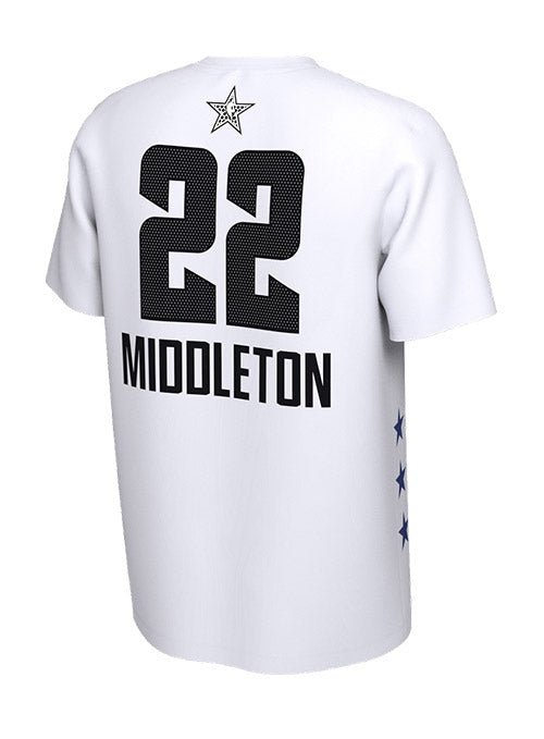 Youth Jordan Khris Middleton Milwaukee Bucks 2019 All-Star Edition T-Shirt