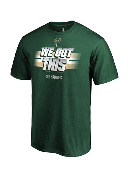 Fanatics All You Got Playoffs 2019 Milwaukee Bucks T-Shirt