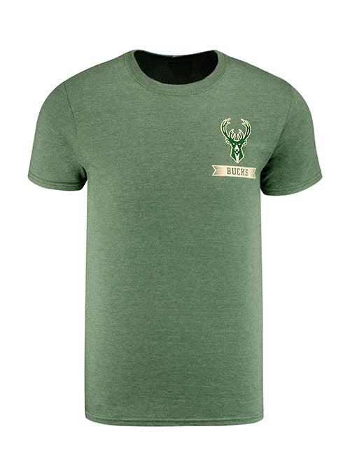 Majestic Diamond Scroll Milwaukee Bucks T-Shirt