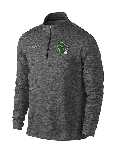 Nike Element State Milwaukee Bucks Pullover 1/4 Zip