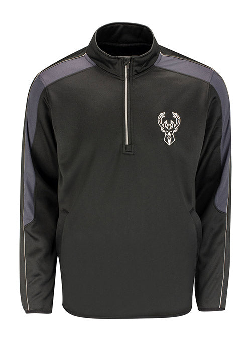 G3 Formotion Black Milwauee Bucks 1/4 Zip Pullover