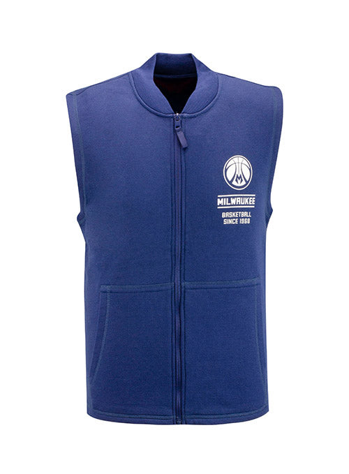 Sportiqe Colfax Landy Milwaukee Bucks Vest
