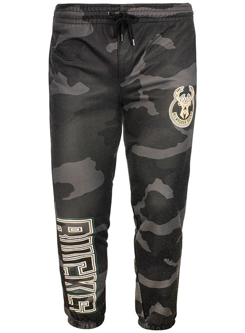 Unk Camo Night Vision Milwaukee Bucks Pants