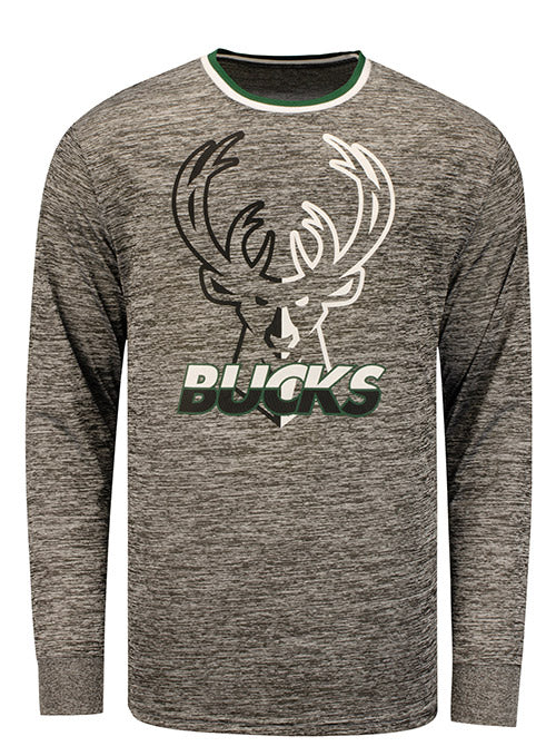 Unk Face to Face Milwaukee Bucks Long Sleeve T-Shirt