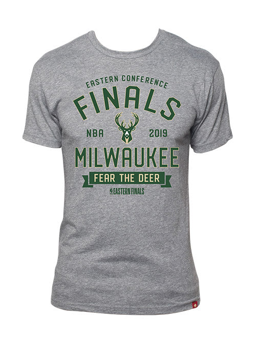 Sportiqe Comfy 2019 Eastern Conference Finals Milwaukee Bucks T-Shirt