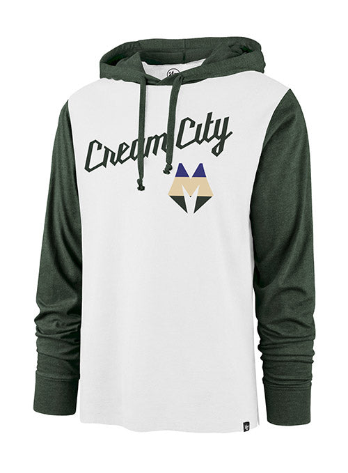'47 City Edition Callback Hooded Milwaukee Bucks Long Sleeve Shirt