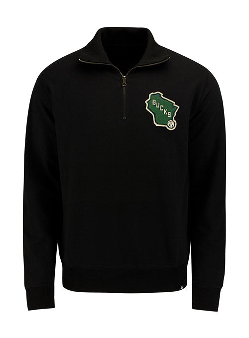 '47 Stateside Milwaukee Bucks 1/4 Zip Pullover