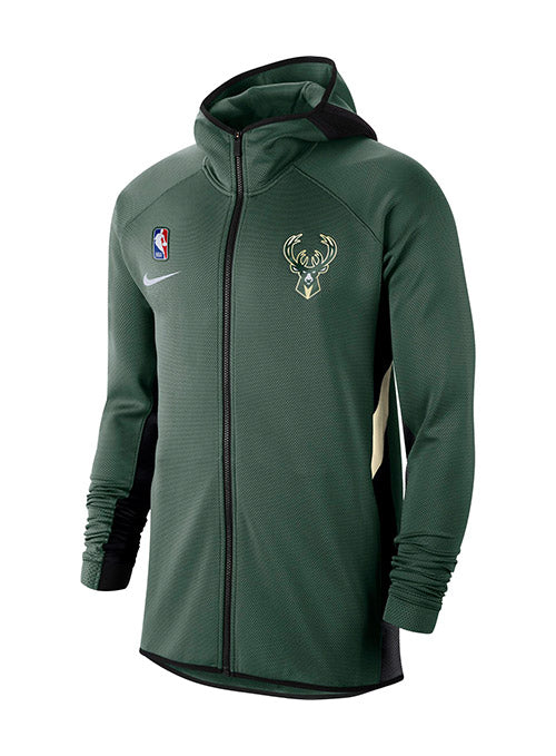 Nike Therma Flex Showtime Full-Zip Milwaukee Bucks Hooded Jacket