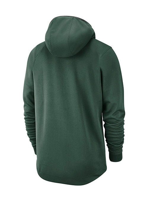 Nike Practice Spotlight Green Milwaukee Bucks Hooded Sweatshirt