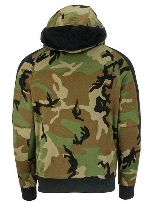 Nike Courtside Camouflage Milwaukee Bucks Hooded Sweatshirt