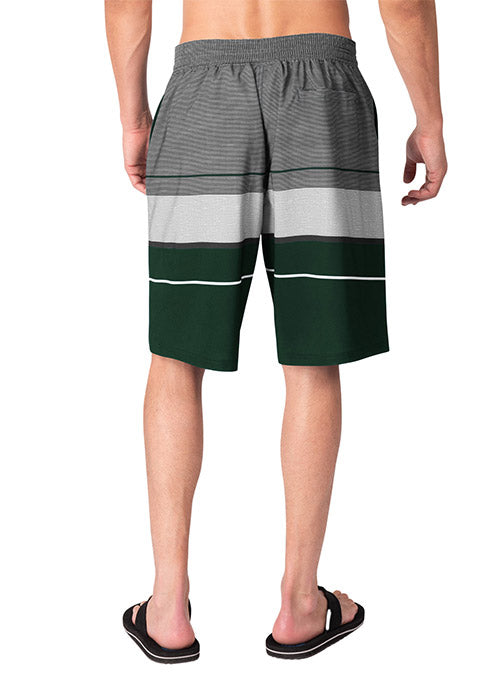 G3 Icon Triple Milwaukee Bucks Swim Trunks