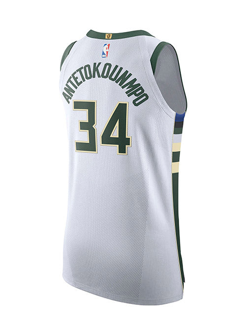 Nike Giannis Antetokounmpo Association Authentic Milwaukee Bucks Jersey