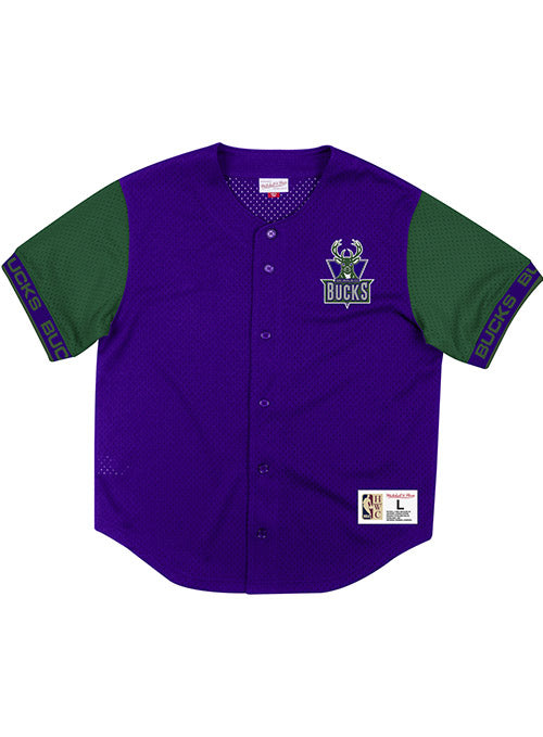 Mitchell & Ness Hardwood Classics Pure Shooter Milwaukee Bucks Mesh Top