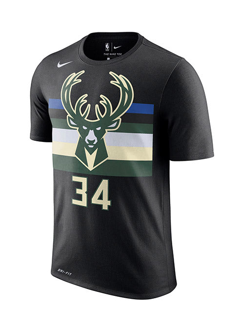 Nike Giannis Antetokounmpo Milwaukee Bucks Statement Edition T-Shirt
