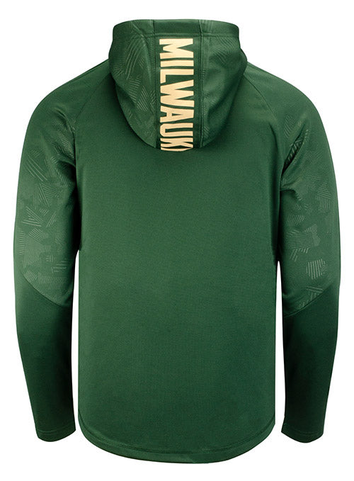 Fanatics Defender Icon Milwaukee Bucks Sweatshirt
