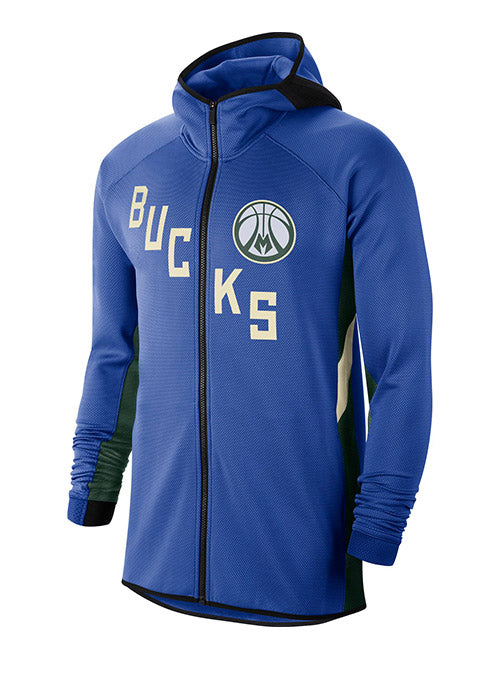 Nike Earned Edition Showtime Milwaukee Bucks Full-Zip Jacket