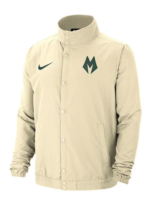 Nike City Edition M Logo Full Zip Milwaukee Bucks Jacket