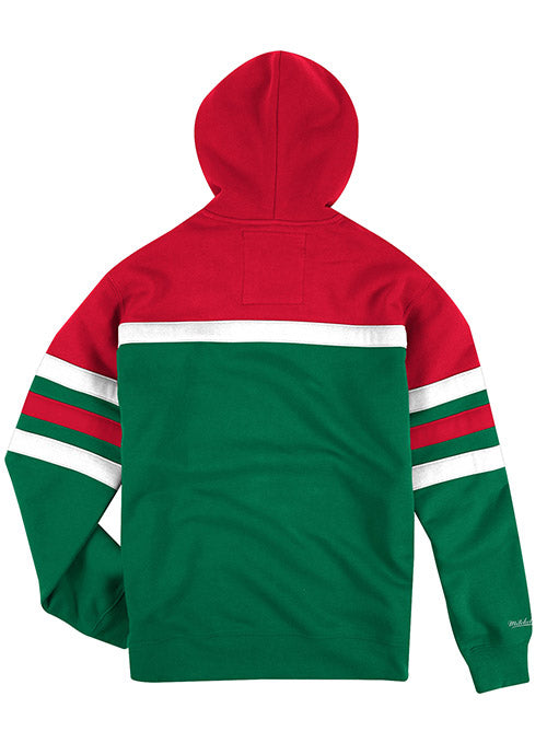 Mitchell & Ness Hardwood Classic Head Coach Milwaukee Bucks Hooded Sweatshirt
