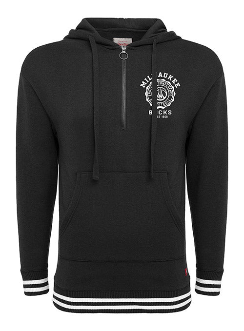 Women's Sportiqe Princeton 1/4 Zip Milwaukee Bucks Sweatshirt