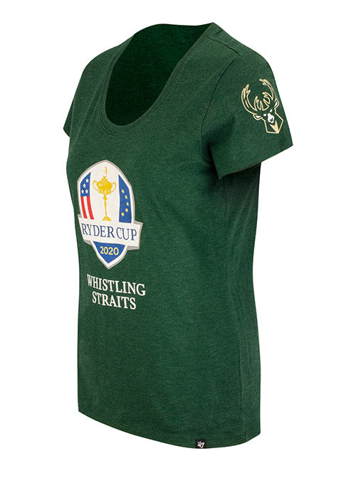 Women's '47 Ryder Cup 2020 Milwaukee Bucks T-Shirt