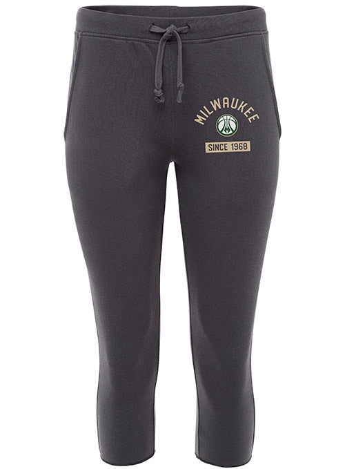 Women's Sportiqe Breaker Nelson Milwaukee Bucks Sweatpants