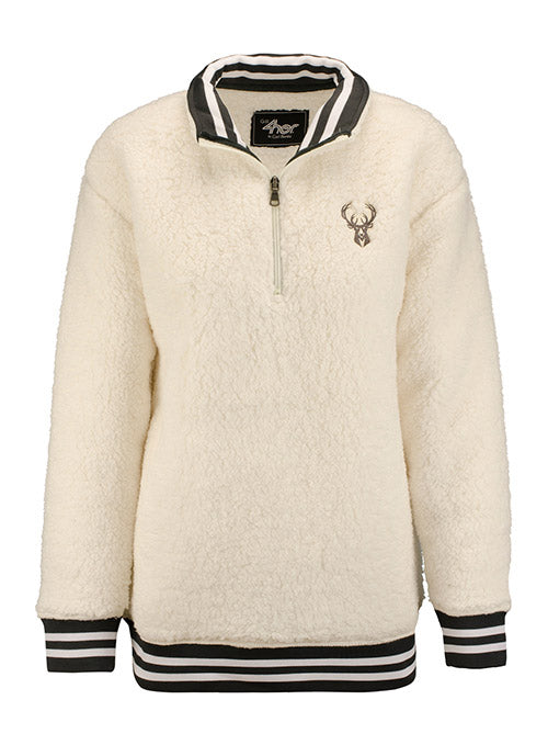 Women's G3 Varsity Sherpa Milwaukee Bucks Pullover