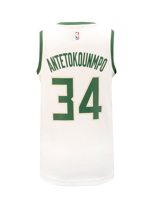 Youth Fanatics Giannis Antetokounmpo Fast Break Association Milwaukee Bucks Jersey