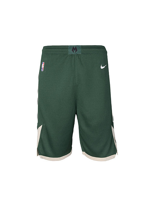 Youth Nike Icon Swingman Milwaukee Bucks Shorts