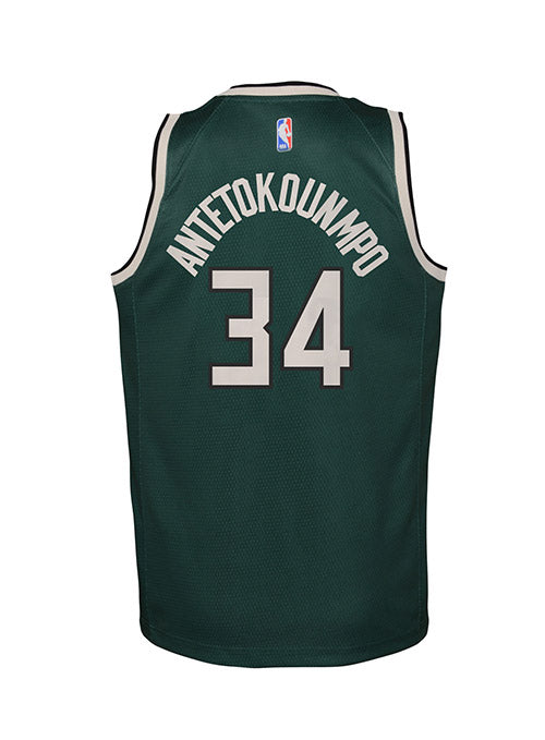 Youth Nike Giannis Antetokounmpo Earned 20-21 Milwaukee Bucks Swingman Jersey