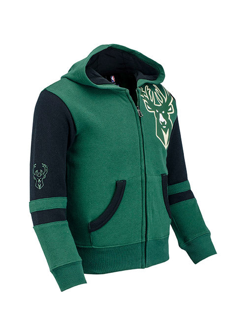 Juvi Outerstuff Straight to the League Milwaukee Bucks Hooded Sweatshirt