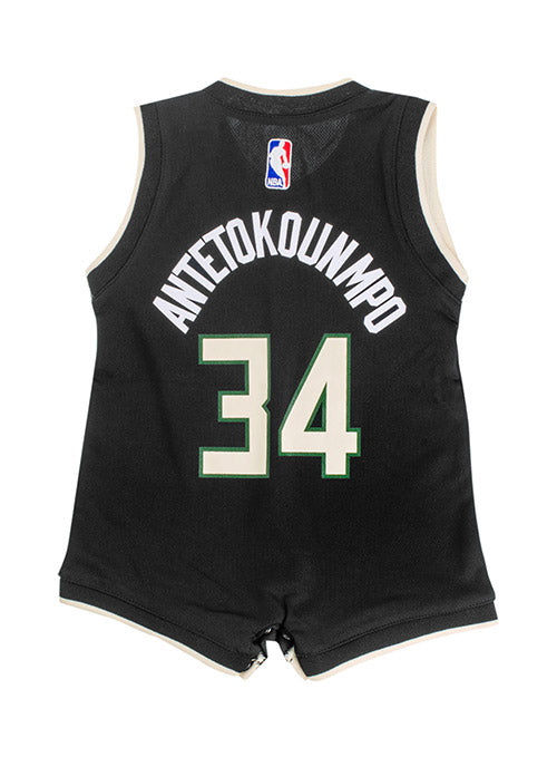 Infant Outerstuff Giannis Antetokounmpo Milwaukee Bucks Statement Edition Swingman Jersey