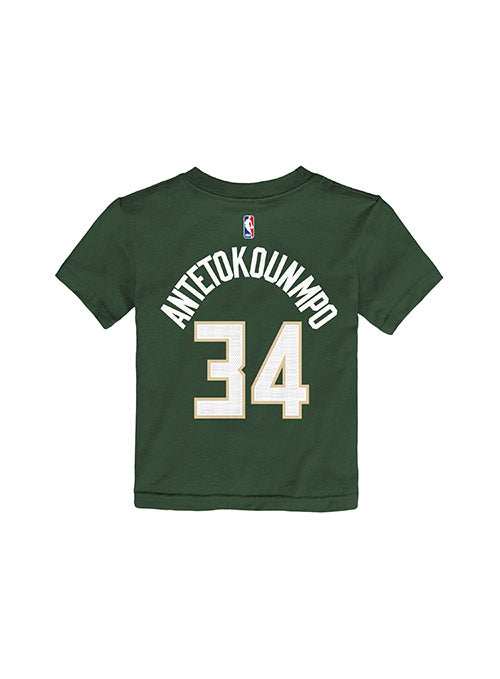 Toddler Nike Giannis Antetokounmpo Icon Milwaukee Bucks T-Shirt