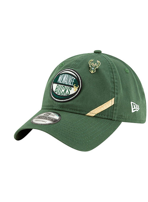 Youth New Era 2019 Draft Milwaukee Bucks Adjustable Cap