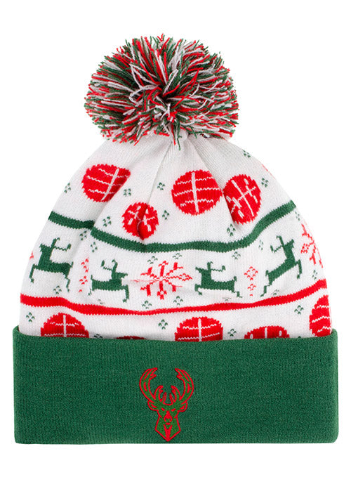 Item of the Game Holiday Milwaukee Bucks Knit Hat