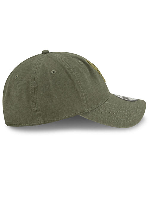 New Era Tonal Olive Icon Milwaukee Bucks Adjustable Cap
