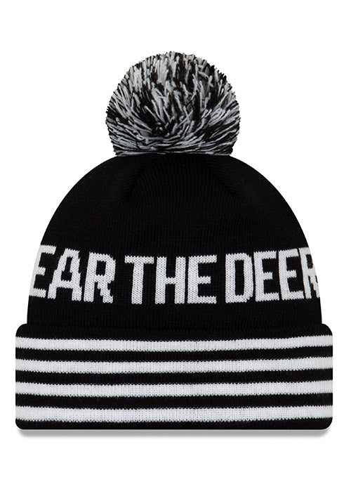 New Era Fear the Deer Motto Milwaukee Bucks Winter Hat