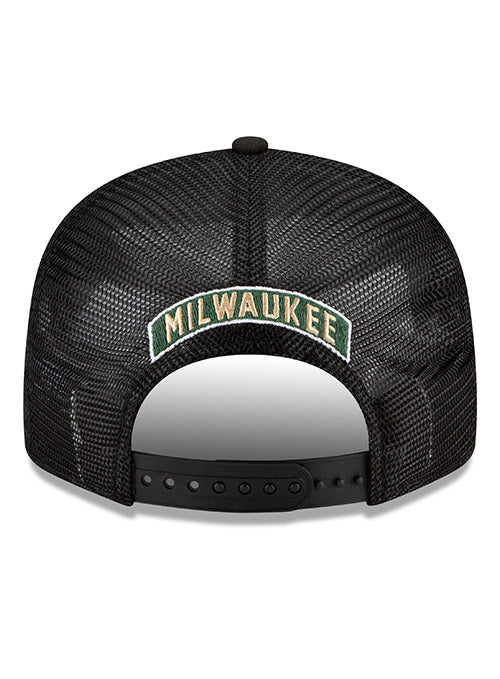 New Era Scatter Icon Milwaukee Bucks Snapback Cap