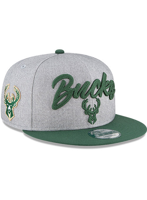 Youth New Era 2020 Draft Milwaukee Bucks Snapback Cap