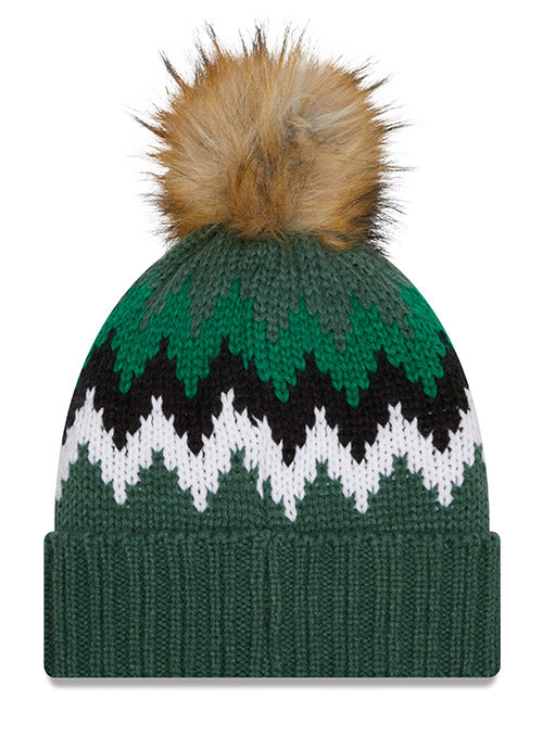 Women's New Era Glacier Milwaukee Bucks Knit Hat