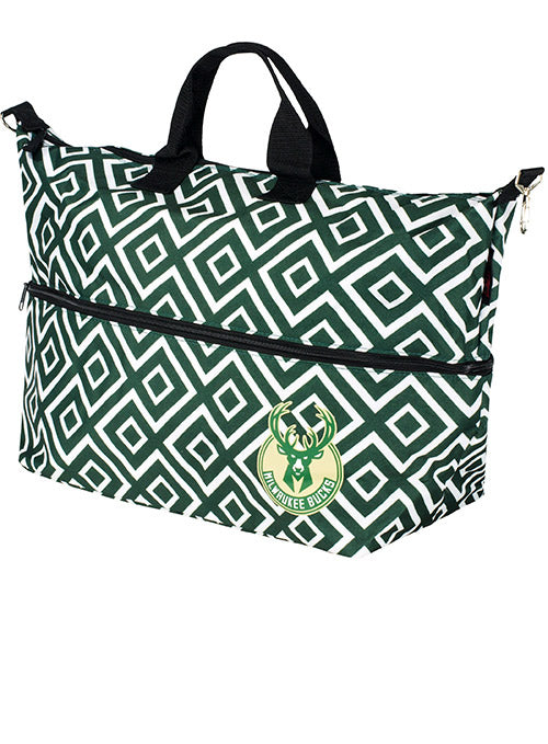 Logo Brand Expandable Tote Bag