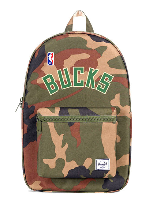 Herschel Settlement Camo Milwaukee Bucks Backpack