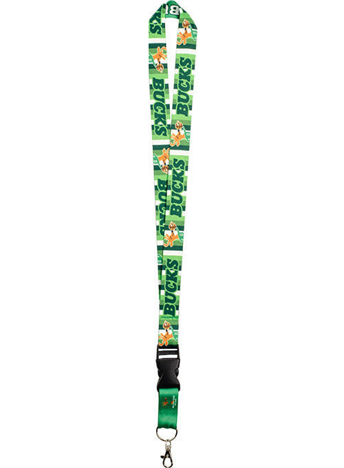 Wincraft Irish Rainbow Milwaukee Bucks Lanyard