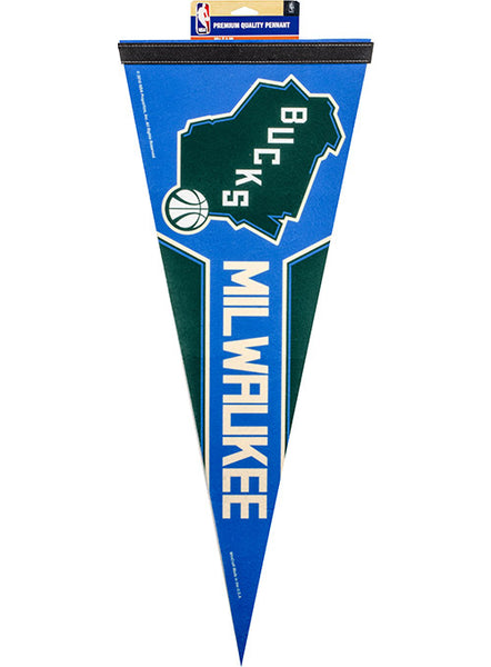 Wincraft State Milwaukee Bucks Pennant